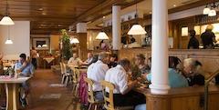 Die Gaststube der Brauereigaststätte Dinkelacker!