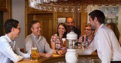 Das Brauerstüble in der Brauereigaststätte Dinkelacker!
