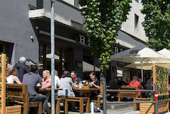 Das Hopfenstube in der Brauereigaststätte Dinkelacker!