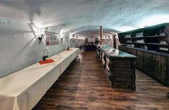 Der Aussenbereich der Brauereigaststätte Dinkelacker!