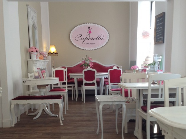 Cuperella Café in GALERIA KAUFHOF: einladendes Ambiente