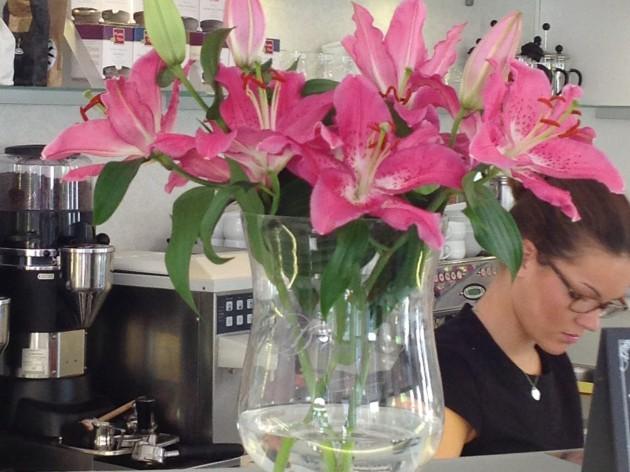 Cuperella Café in GALERIA KAUFHOF: gutes Gerät für das gute Team