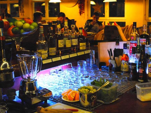Las Carretas  Mexican Cantina y Bar: Unsere einladende Bar