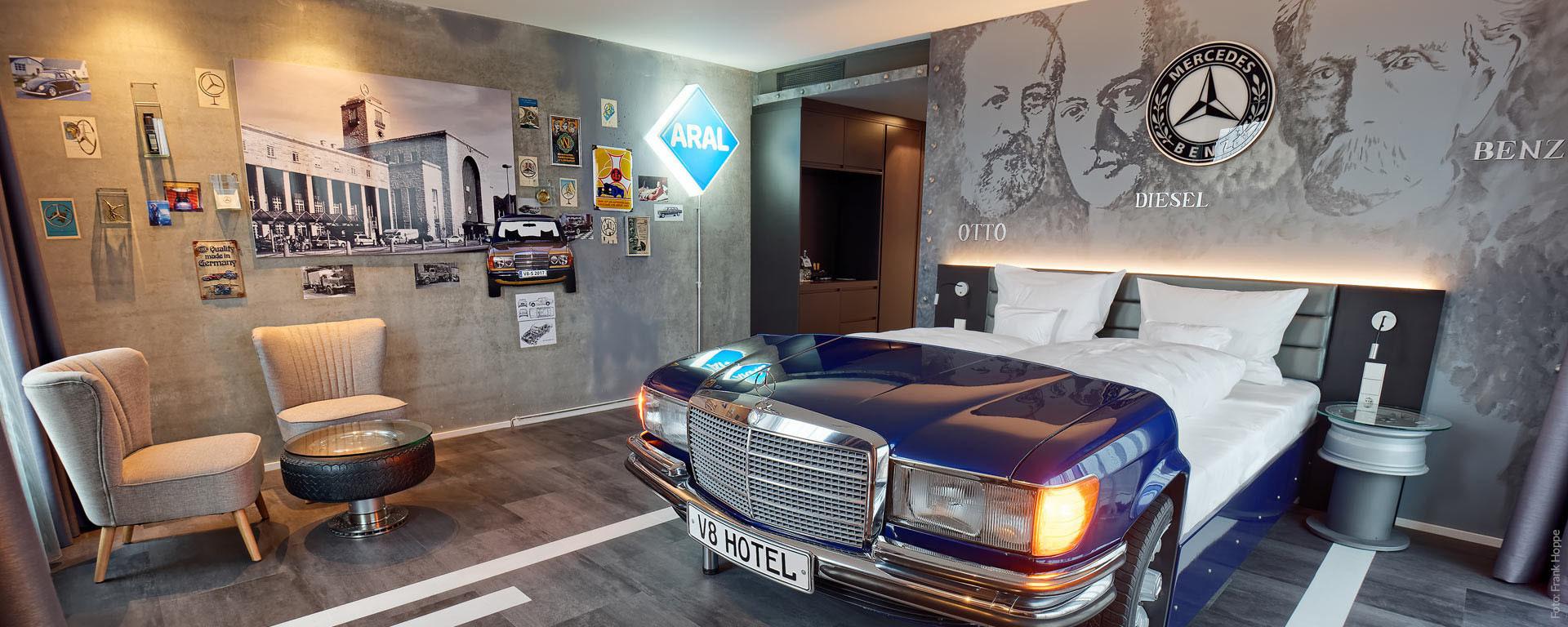 "V8 HOTEL ""PICK-UP"": Ein Hotel voller Highlights"