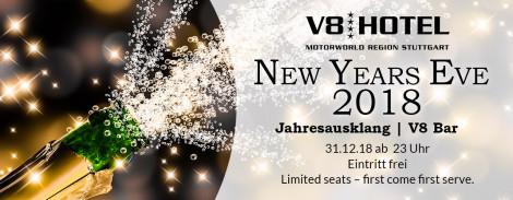 NEW YEARS EVE 2018 | V8 Hotel Böblingen