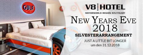 Silvesterarrangement | V8 Hotel