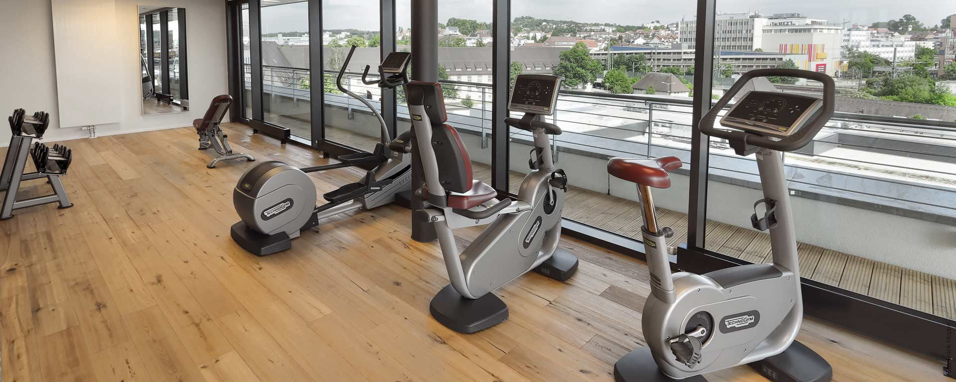 V8 HOTEL-Fitness-Bereich