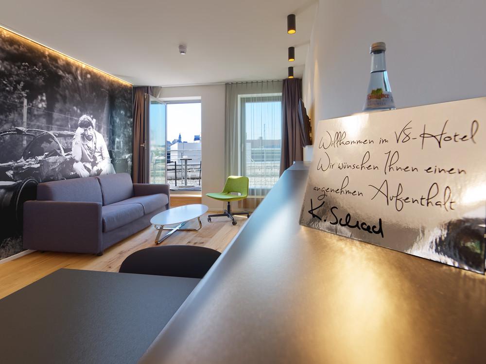 V8 HOTEL-Appartments für Familien und LongStay-Gäste