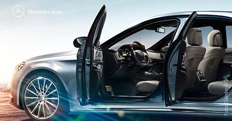 V8 Kurzurlaub für Mercedes-Benz-Abholer