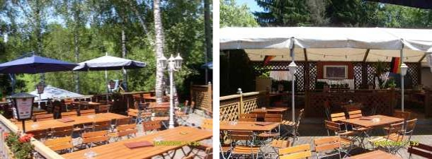 Gaststätte Rosengarten: Unser Garten