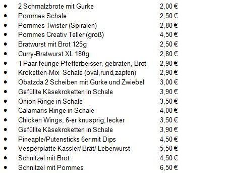 COM-Creativ Oase Mönchsroth: Sonntags ab 10.00 Weißwürste mit Brezge 3,50 €
