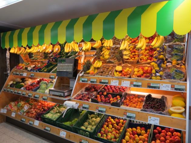 Brotzeit Stadel: Frisches Obst & Gemüse direkt bei uns im Laden!