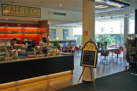 Cafe Liege: Unser Cafe in der Buchandlung