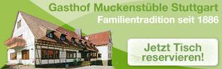 Gasthof Muckenstüble in Stuttgart