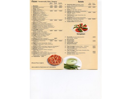 Pizzeria la Bolognese: Große Auswahl - Kleine Preise