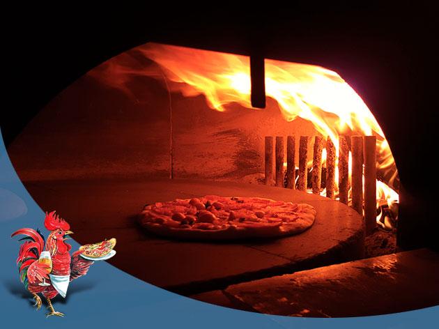 Pizza-Restaurant Roter Gugelhan: Pizza & Flammkuchen aus dem Holzofen