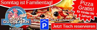 Pizza Konstanz-gratis für Kinder bis 8