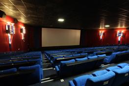 Kinopark Aalen: Einer von vielen hochmodernen und bequemen Kinosäälen