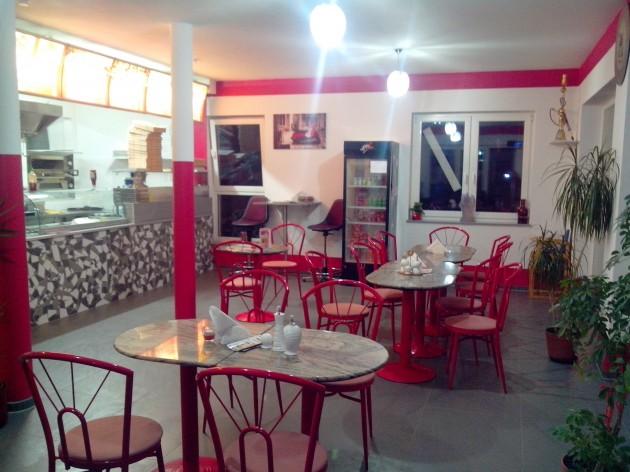 Lauchheimer Pizza und Döner: Unser Gastraum