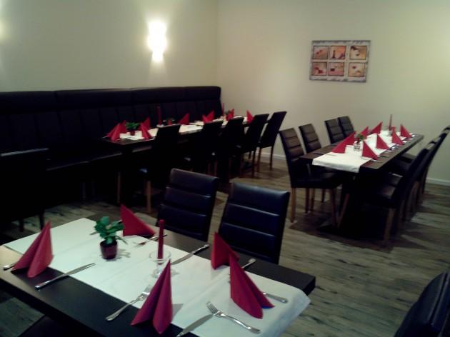 Ristorante Pizzeria Calabria: Unser Gastraum