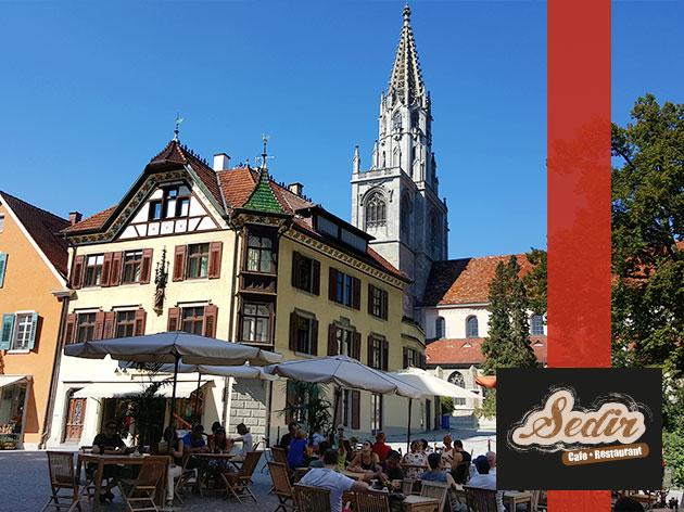 Sedir | Cafe - Restaurant: Unsere Terrasse