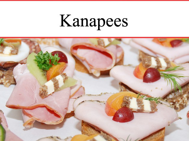 Markt-Metzgerei Schuster:  Partyservice Kanapees