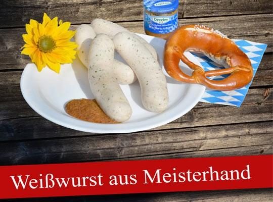 Markt-Metzgerei Schuster: Für Ihr nächstes Weißwurst-Frühstück