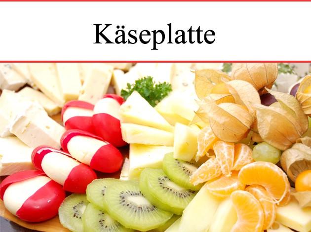 Metzgerei Schuster - Wasseralfingen: Käseplatte