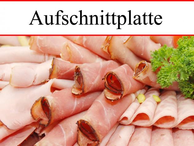 Metzgerei Schuster - Wasseralfingen: Aufschnittplatte