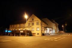 Landgasthof Kreuz am Abend