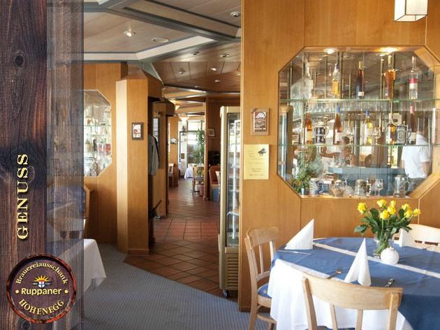 Restaurant Hohenegg: Liebe geht durch den Magen