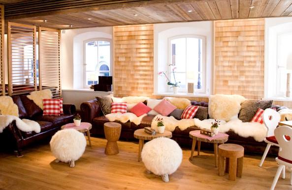 Die Löwenwirtschaft: Loungebereich