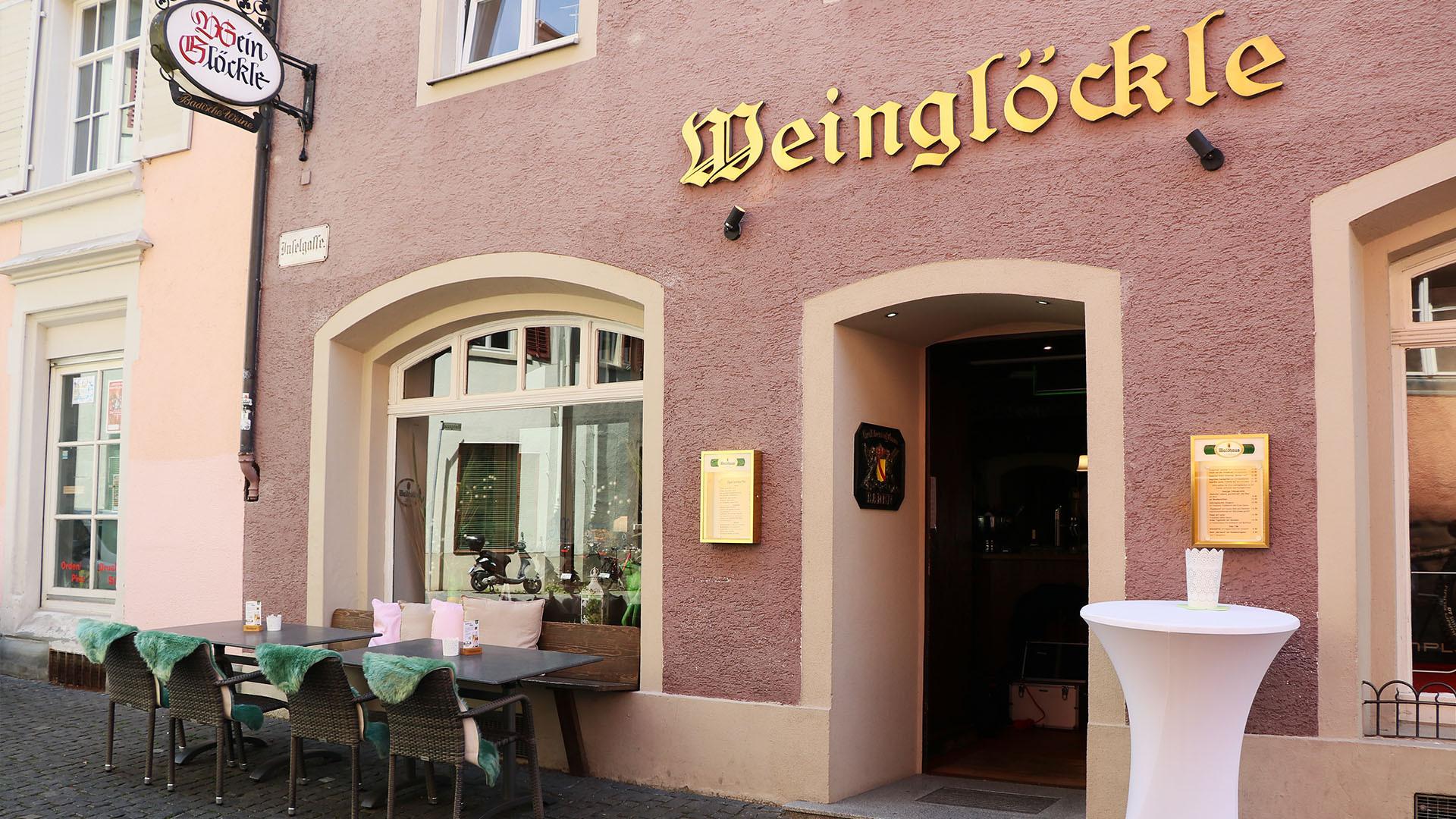Herzlich Willkommen in unserem Restaurant Weinglöcke in Konstanz