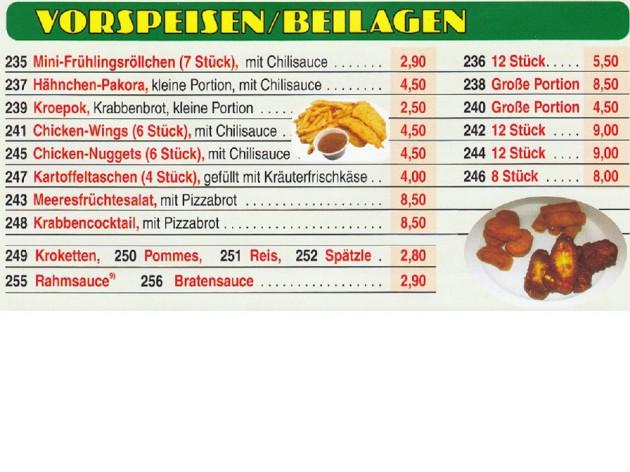 Pizza Zentrum Heimservice: Unsere Speise- und Getränkekarte - 4
