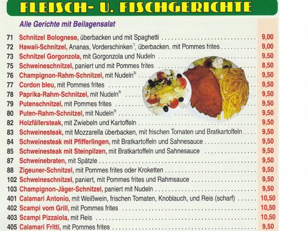 Pizza Zentrum Heimservice: Unsere Speise- und Getränkekarte - 6