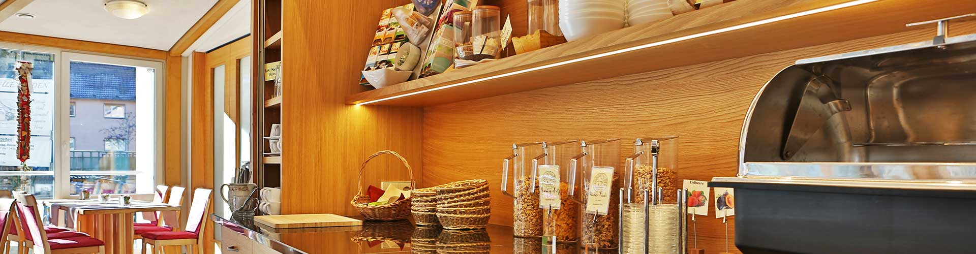 Hotel Rössle Berneck: Das Frühstücks-Buffet
