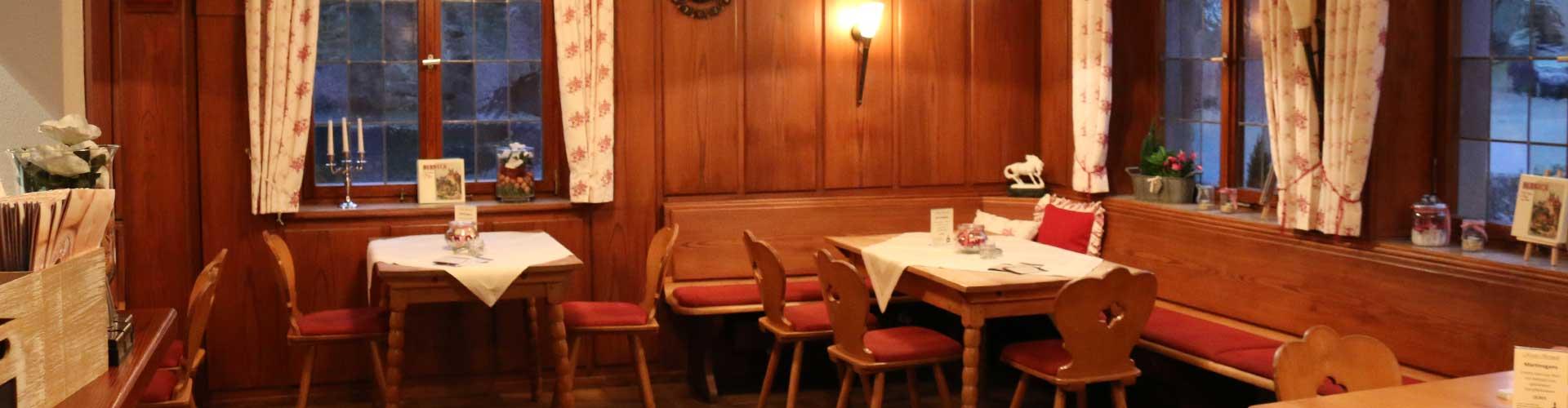 Hotel Rössle Berneck: Unser gemütliches Restaurant