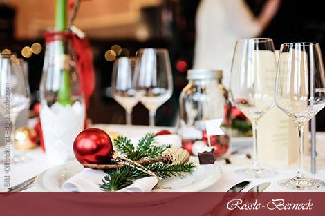 Weihnachtsfeiern im Rössle-Berneck