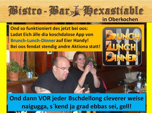 Hexastiable - Bistro & Bar: So funzt des jetzt bei oos!