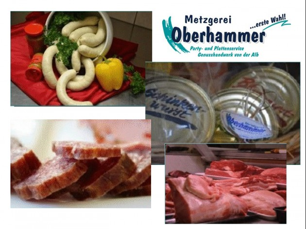 Metzgerei Oberhammer - Gerstetten: Metzgerei Oberhammer - Wurst - Fleisch - Weißwurst - Dosenwurst