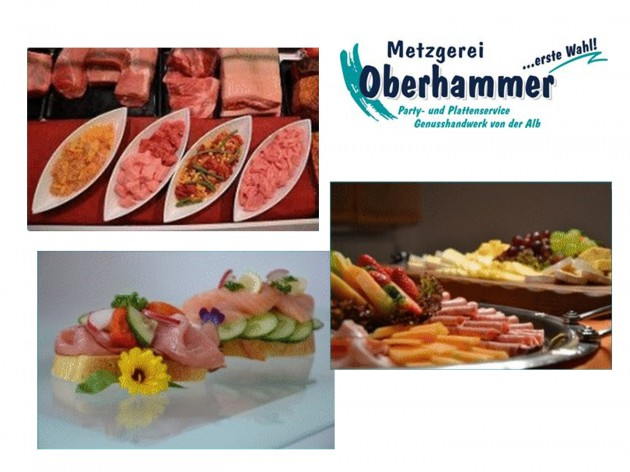 Metzgerei Oberhammer - im Norma Wilhelmstraße: Unser Partyservice und Catering - für Ihren Anlass