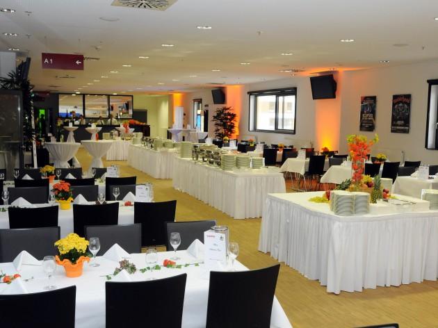 Restaurant Kubus: Die MHP - Arena in Ludwigsburg