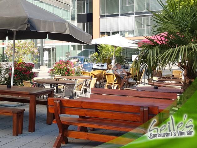 Seile's Restaurant & Vino Bar: Die Sonne genießen!