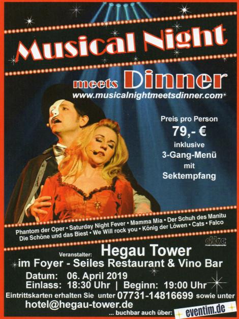 """Musical Night meets Dinner"""