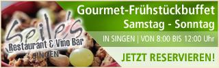 Seile, Singen - Gourmet-Frühstückbuffet