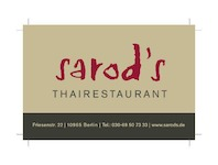 Sarod's Thai Restaurant, 10965 Berlin