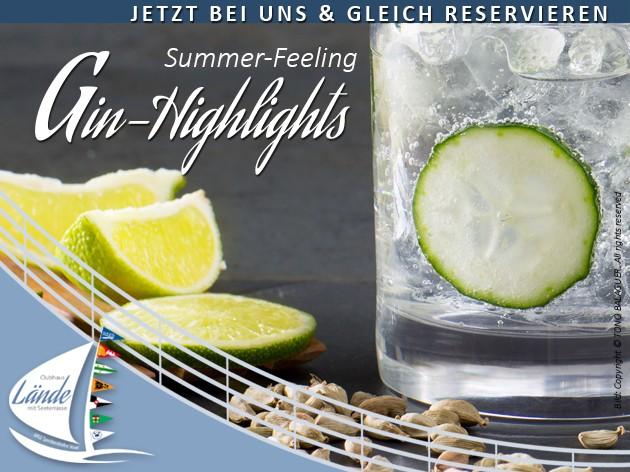 Clubhaus Lände: Sommer, Sonne, coole Gins