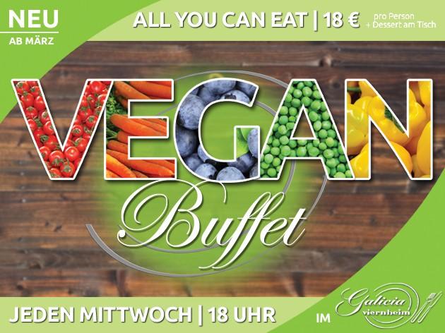 Restaurant Galicia: NEU | Vegan Buffet