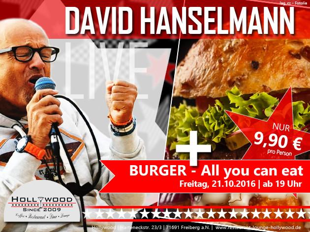 Hollywood: LIVE   DAVID HANSELMANN