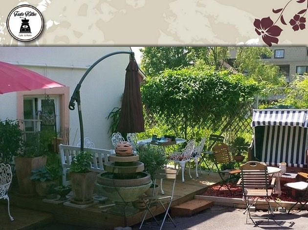 Tante Käthe Café & Mehr: Unsere neue Kaffeeterrasse